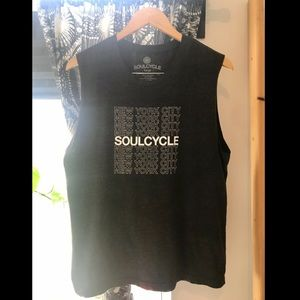 SoulCycle NY muscle tank